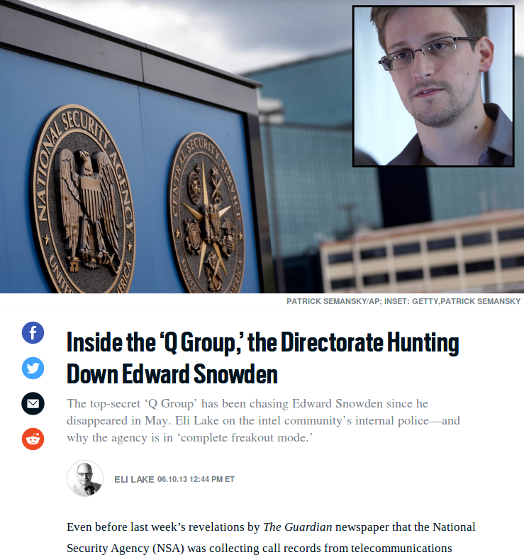 Inside the Q group, hunting Edward Snowden, 2013.06.10 Eli Lake article.png