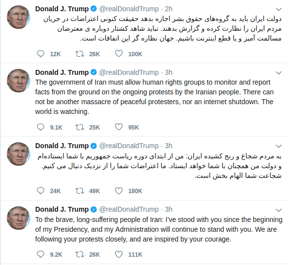 Trump tweeting directly to the people of Iran.png