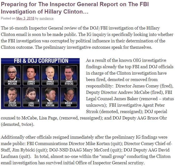 Biased FBI and DOJ Officials Broke The Law & Tried To Decide